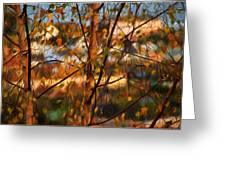 Leaves - Impressions Greeting Card