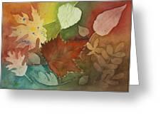 Leaves Vl Greeting Card