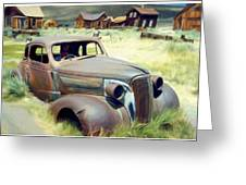 Leaving Bodie Greeting Card