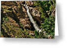 Leavitt Falls  Greeting Card