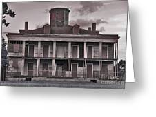 Louisiana Plantation House Greeting Card