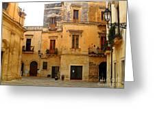 Lecce Stone Greeting Card