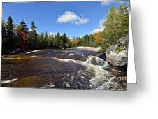 Ledge Falls Maine Greeting Card