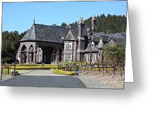 Ledson Winery And Vineyard In Late Winter Just Before The Bloom 5d22194 Greeting Card