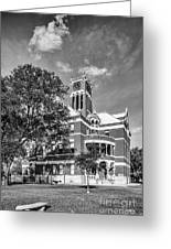 Lee County Courthouse In Giddings Texas Greeting Card