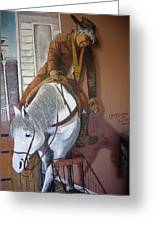 Lee Marvin Cat Ballou Homage 1965 Mural  Kid Chillean's Black Canyon Arizona  2005 Greeting Card