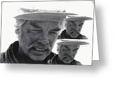Lee Marvin Monte Walsh #1 Old Tucson Arizona 1969-2012   Greeting Card