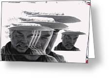 Lee Marvin Monte Walsh #2 Old Tucson Arizona 1969-2012   Greeting Card