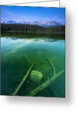 Leech Lake Greeting Card