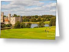 Leeds Castle Golf 2 Greeting Card