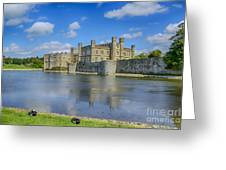 Leeds Castle Moat 2 Greeting Card