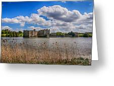 Leeds Castle Moat  Greeting Card