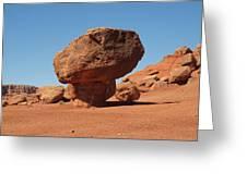 Lees Ferry Balancing Rock Greeting Card