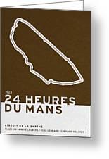 Legendary Races - 1923 24 Heures Du Mans Greeting Card
