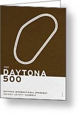 Legendary Races - 1959 Daytona 500 Greeting Card