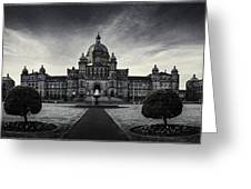 Legislature Building British Columbia Victoria Greeting Card
