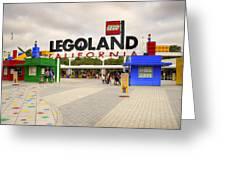 Legoland California Greeting Card