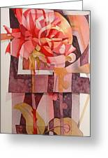 Legs Of A Flower Greeting Card