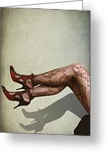 Legs Greeting Card by Svetlana Sewell
