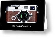 Leica M7 Greeting Card by Dave Bowman