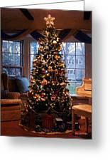 L'elegance De Noel Greeting Card