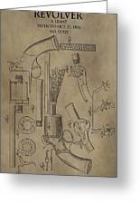 Lemat Revolver Patent Greeting Card