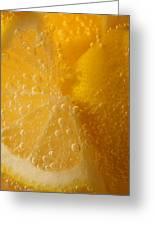 Lemon 45 Greeting Card