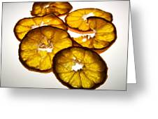 Lemon Greeting Card by Bernard Jaubert