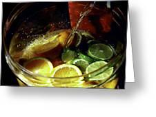 Lemon Limeade Greeting Card
