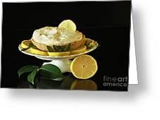 Lemon Meringue Delight Greeting Card