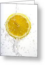 Lemon Splash Greeting Card