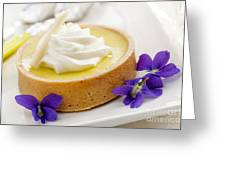Lemon Tart  Greeting Card