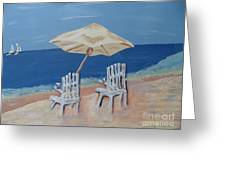 Lemonade By The Ocean 1 Greeting Card