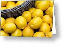 Lemons 01 Greeting Card
