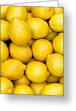 Lemons 02 Greeting Card