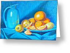 Lemons And Oranges Greeting Card