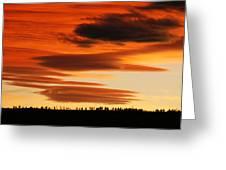 Lenticular Sunset 1 Greeting Card