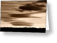 Lenticular Sunset 2 Greeting Card