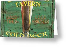 Leonetti's Tavern Greeting Card