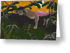 Leopard Cub Greeting Card