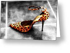 Leopard Fusion Greeting Card