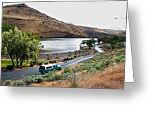 Lepage Rv Park On Columbia River-or Greeting Card