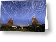Lepine Star Trails Greeting Card