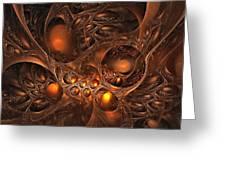 Leptonite Caverns Greeting Card