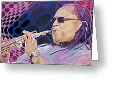 Leroi Moore-op Art Series Greeting Card