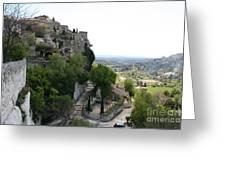 Les Baux De Provence Greeting Card