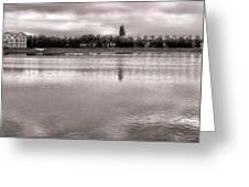 Les Templettes Et Le Bassin De La Sourderie Greeting Card