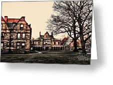 Lesley University-cambridge Boston Greeting Card