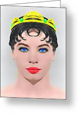 Leslie Caron Alias In The Glass Slipper Greeting Card by Art Cinema Gallery