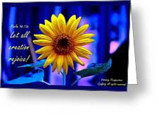 Let All Rejoice Greeting Card